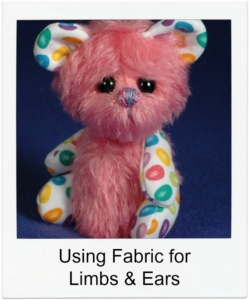 Using Fabric for limbs and ears