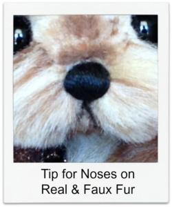 Nose Tip to prevent fuzzies