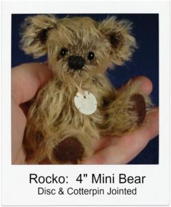 "Rocko 4"" Miniature Bear Class"