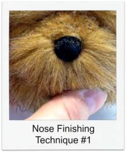 Tip #2 for Finishing a Nose